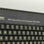 Nápis - Schneider CPC 464