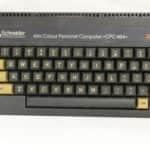 Rozložení kláves - Schneider CPC 464