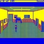 Schneider EURO PC II - Test CGA hry - 28