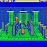 Schneider EURO PC II - Test CGA hry - 29