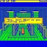 Schneider EURO PC II - Test CGA hry - 32