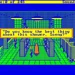 Schneider EURO PC II - Test CGA hry - 33