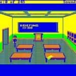 Schneider EURO PC II - Test CGA hry - 35