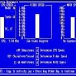 Schneider EURO PC II - Test CGA hry - 56