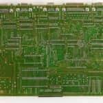 Základní deska zespodu - Schneider EURO PC II