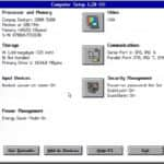 Compaq Deskpro 2000 (5100) - BIOS