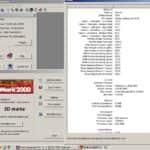 MSI GeForce4 Ti 200 - 3D Mark 2000 - Celeron