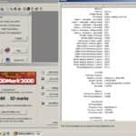 MSI GeForce4 Ti 200 - 3D Mark 2000 - Pentium 4