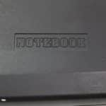 Notebook 6400AD - Logo na víku