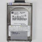 Notebook 6400AD - Pevný disk je testovací