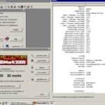 Nvidia GeForce3 200TI- 3D Mark 2000 - Pentium 4
