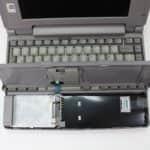 Toshiba T2130CT - Uložení baterie