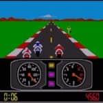 Atari 520ST - Hra Super Cycle