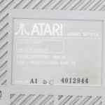 Atari 520ST12 - štítek FDD