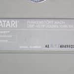 Atari 520ST - Štítek