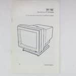Manuál monitoru k 16-bitovému Atari model: SM146