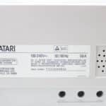 Štítek na monitoru k 16-bitovému Atari model: SM146