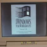 Toshiba T1900s - Windows 3.1