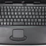 AJP 1100P - Rozložení klávesnice