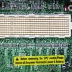 AJP 1100P - Patice procesoru