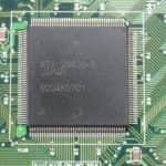 Hyundai Super-386-25L - Grafický čip