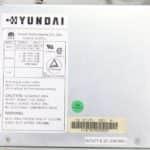 Hyundai Super-386-25L - Štítek na zdroji