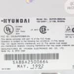 Hyundai Super-386-25L - Štítek na počítači