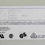 Hyundai Super-386-25L - Klávesnice štítek