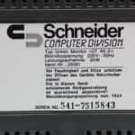 Green Monitor GT 65 (štítek) k počítači Schneider CPC464