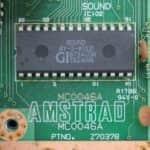 Schneider CPC464 - sound čip