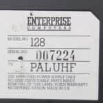 Enterprise 128 a sériové číslo