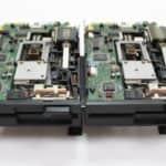 Sherry PC-XT klon a disketové mechaniky