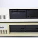 Porovnání Sherry PC-XT klon a IBM 5162 / XT 286
