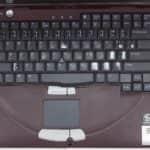 Rozložení klávesnice - DELL Inspiron 3800