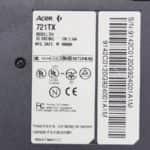 Štítek - Acer TravelMate 721TX