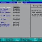 BIOS 5 - Acer TravelMate 721TX
