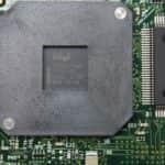 Štítek na procesoru - Dell Latitude CP