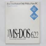 1 - MS-DOS 6.22 v krabici