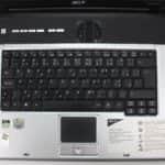 Rozložení klávesnice - Acer Aspire 1362LM