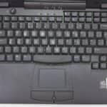 Rozložení klávesnice - DELL Laditude CPi