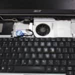 Odmontovaný vrchní kryt - Acer Aspire 1362LM