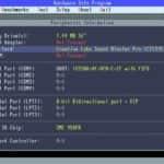 Test MS-DOS - DELL Laditude CPi