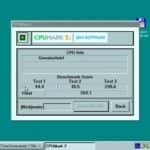 Test Windows 95 - Dell Latitude CP