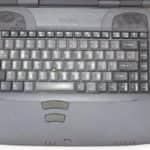 Rozložení klávesnice - Toshiba Satellite 2180CDT