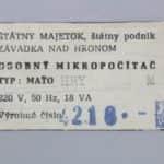 Štítek - Maťo