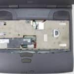 Odmontovaná klávesnice - Toshiba Satellite 2180CDT