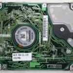Pevný disk zespodu - Toshiba Satellite 2180CDT