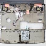 Vrchní kryt s LCD zespodu - Toshiba Satellite 2180CDT