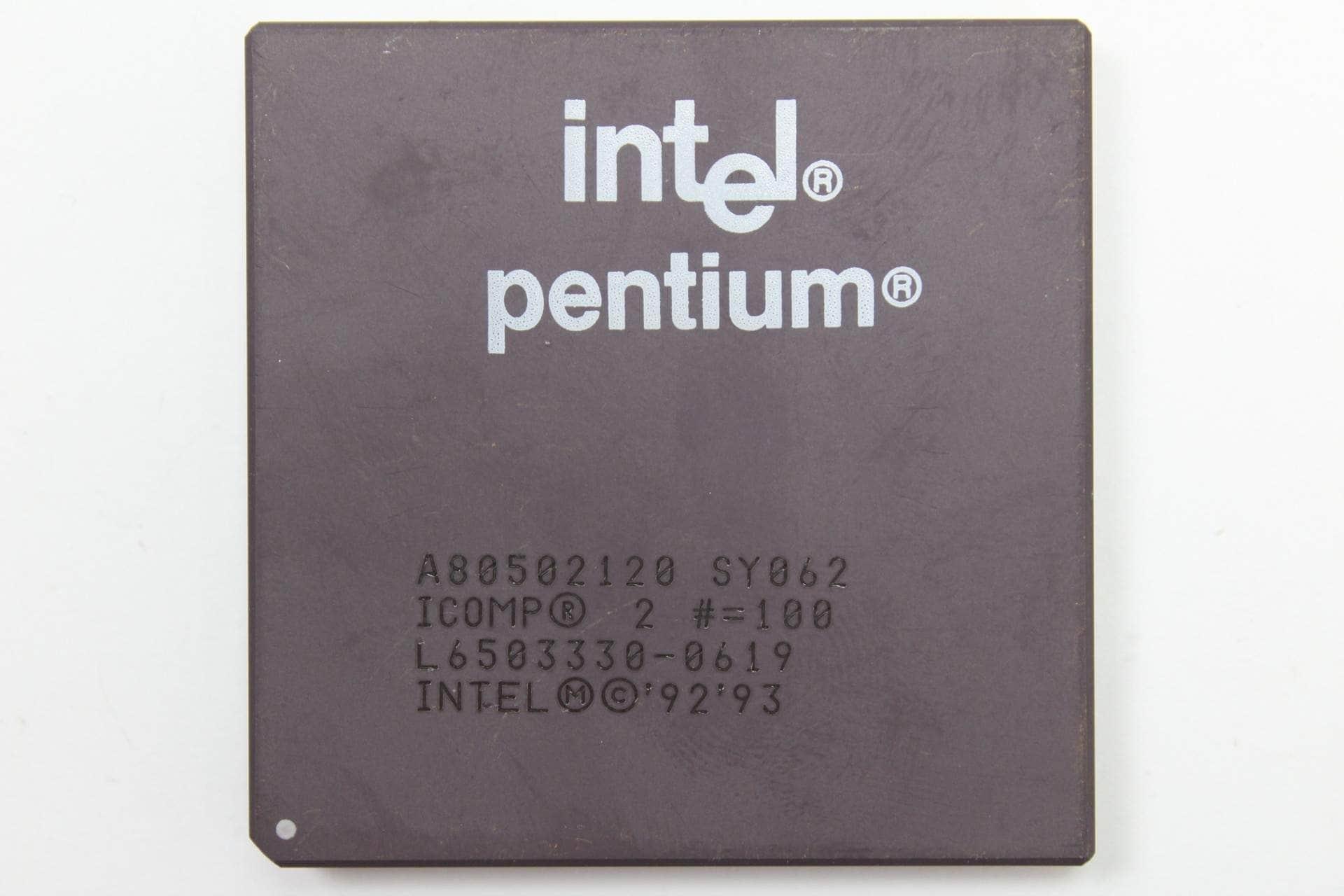 Intel Pentium 120MHz