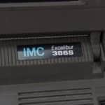 IMC Excalibur EL-386S - Štítek výrobce a model